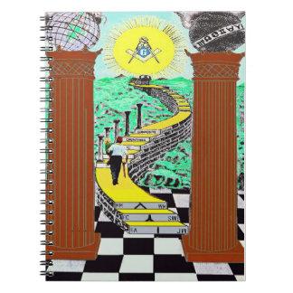 Masonic, Shriners note book