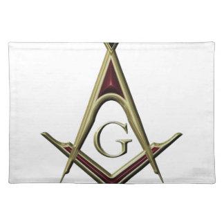 Masonic Square & Compass Placemat