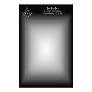 Masonic Stationery