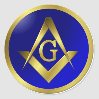 Masonic sticker