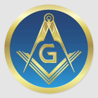 Masonic Stickers | Freemason Square and Compass