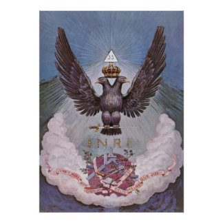 Masonic Symbolism Poster