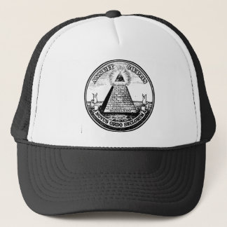 masonic templar trucker hat