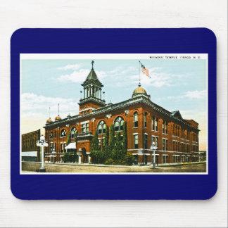 Masonic Temple, Fargo, North Dakota Mouse Pad