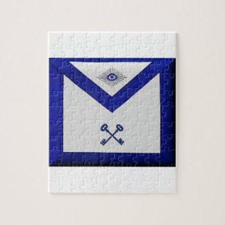 Masonic Treasurer Apron Jigsaw Puzzle