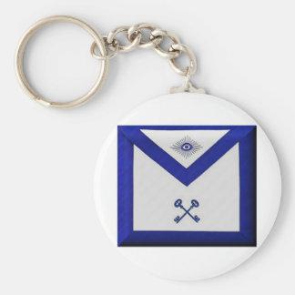 Masonic Treasurer Apron Key Ring