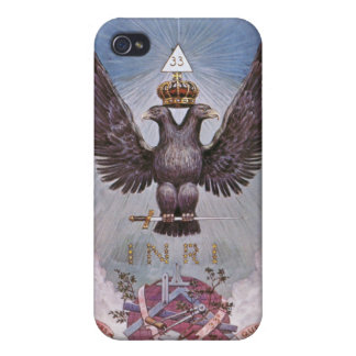 Masonic Twin Eagles iPhone 4/4S Case