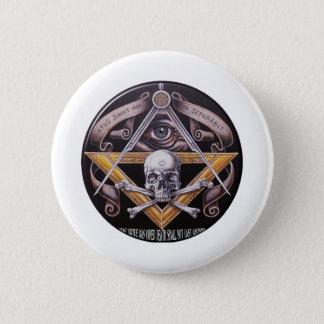 Masonic Virtue 6 Cm Round Badge