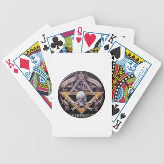 Masonic Virtue Bicycle Playing Cards