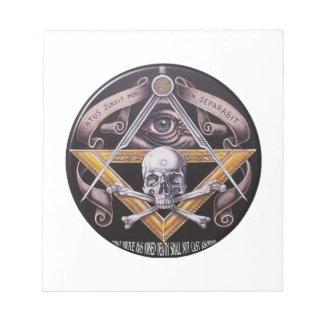 Masonic Virtue Notepad