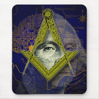 Masonic Washington Mousepad