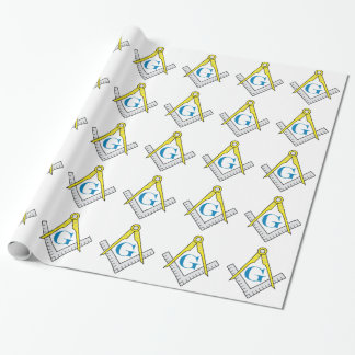 Masonic wrapping paper (large image)