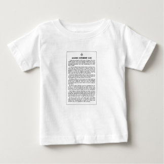 masoniccard baby T-Shirt