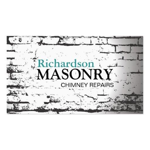 MASONRY BUSINESS CARD