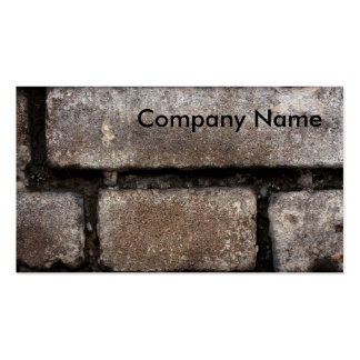 Masonry Work Business Card
