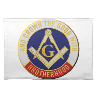 Masons Brotherhood Placemat