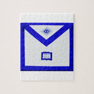 Masons Chaplain Apron Jigsaw Puzzle