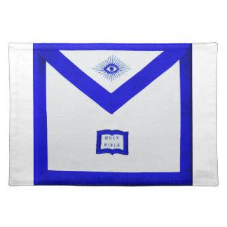 Masons Chaplain Apron Placemat