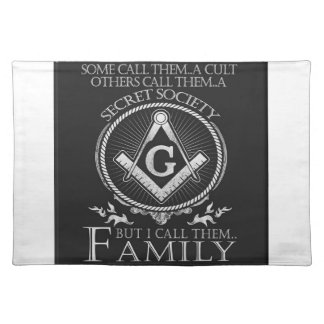 Masons Family Placemat