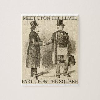 Masons Meeting Jigsaw Puzzle