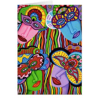 Masquerade 11 card