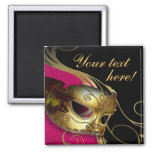 Masquerade Ball Costume Party Favour Magnet