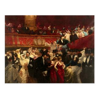 Masquerade Ball - Hermans Postcard