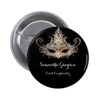 Masquerade Ball Name Badge