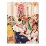 Masquerade Ball Postcard