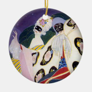 Masquerade Circle Ornament