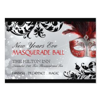 """Masquerade Invitation 5"""" X 7"""" Invitation Card"""