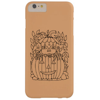 Masquerade Jack O Lantern Design Barely There iPhone 6 Plus Case