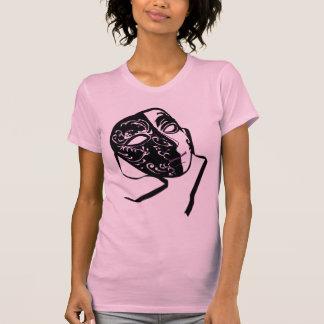 Masquerade Ladies Twofer Sheer T-Shirt