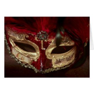 Masquerade Mask card