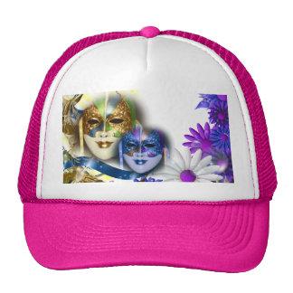 Masquerade masks girls name PERSONALIZE Cap