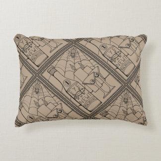 Masquerade Newt Martini Line Art Design Decorative Cushion