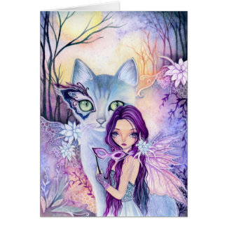 Masquerade night - blank card