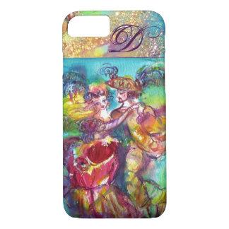 MASQUERADE NIGHT / CARNIVAL DANCE MONOGRAM iPhone 8/7 CASE