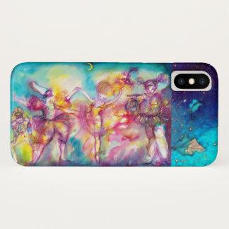 MASQUERADE PARTY,Mardi Gras Masks,Dance,Music iPhone X Case