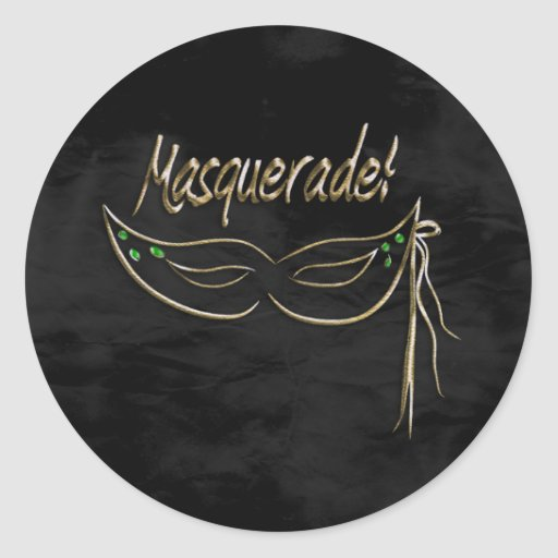 Masquerade Party Sticker