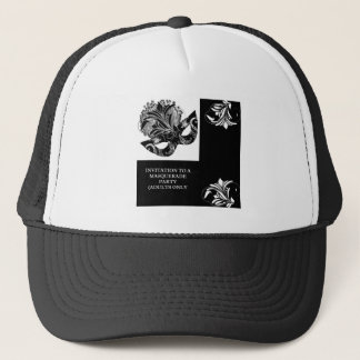 MASQUERADE PARTY TRUCKER HAT