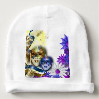 Masquerade quinceanera Venetian masks Baby Beanie