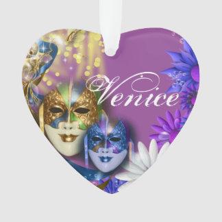 Masquerade quinceanera Venetian masks girls Ornament
