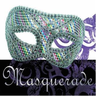 Masquerade Sculpture Standing Photo Sculpture