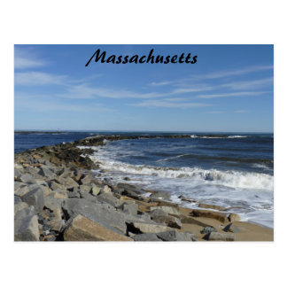 Mass Coastline Postcard