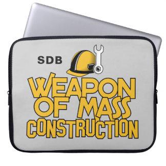 Mass Construction custom monogram laptop sleeves
