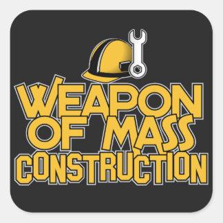 Mass Construction custom stickers
