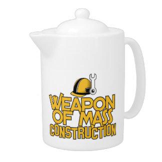 Mass Construction teapot