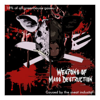 Mass Destruction Large Poster