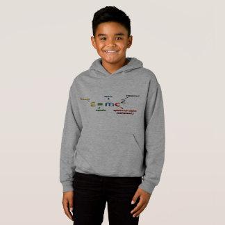Mass Energy Equivalence Formula Grey Kids Hoodie